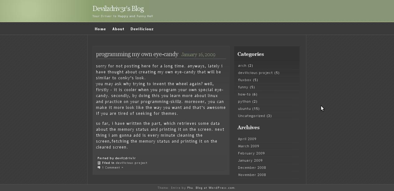 devilzdriv3r's blog